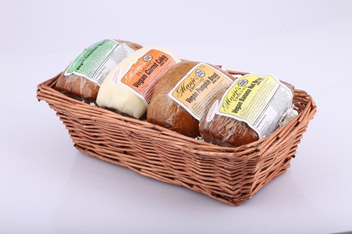 Amazon.com : Vegan Bread Basket : Gourmet Baked Goods Gifts ...