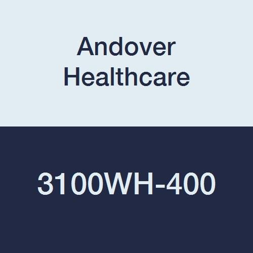 Image of Adhesive Bandages Andover Healthcare 3100WH-400 Coflex Non-Woven Cohesive Self-Adherent Wrap, 15' Length, 1' Width, White, Latex Bulk (Pack of 400)