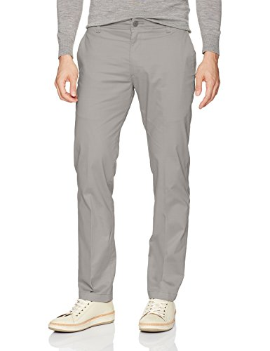 (LEE Men's Performance Series Extreme Comfort Slim Pant, Gravel, 33W x 34L)