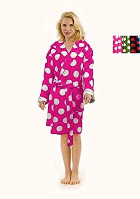 Adult Robes Women and Men Robe Velour Cotton Terry Bathrobe Shawl Collar