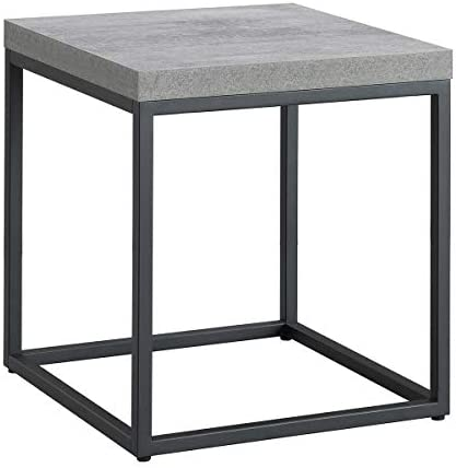 Cheap CENSI Modern Wood and Metal End Table/Side Table/Nightstand living room table for sale