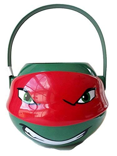 Ninja Turtle Buckets (Teenage Mutant Ninja Turtles Medium Figural Plastic Bucket -)