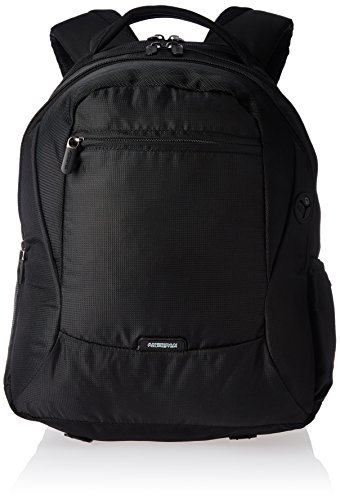 American Tourister Comet Polyester 29.7 ltrs Black Laptop Bag (61W (0) 09...