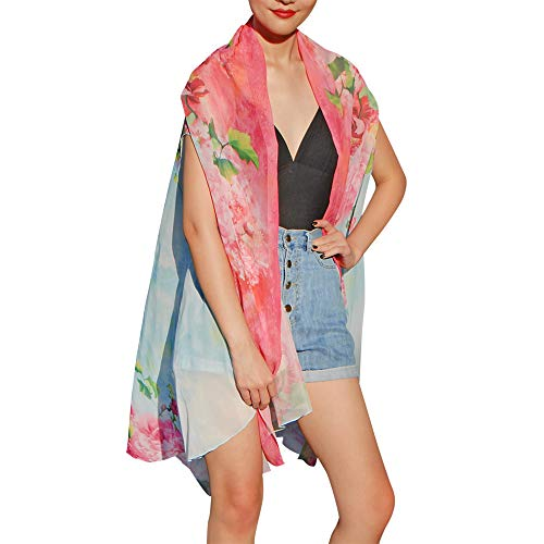 - Women's Beach Cover Up Swimsuit Kimono Floral Cardigan | 18 Ways to Wear | 8 Colors