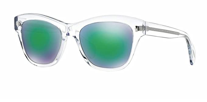 6df39dd77 Oliver Peoples - Sofee - 5233 53 - Sunglasses (CRYSTAL, Light Green Mirror  Green