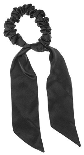 Silk Charmeuse Sash (L. Erickson USA Sash Pony - Silk Charmeuse Black)