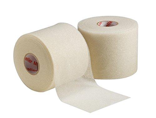 Mixed Colors Bulk Prewrap for Athletic Tape - 12 Rolls, Natural by Mueller