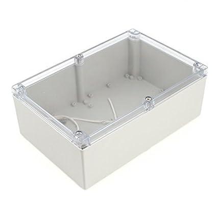 240mmx160mmx90mm Caso Junction Protección de la caja impermeable de plástico bricolaje
