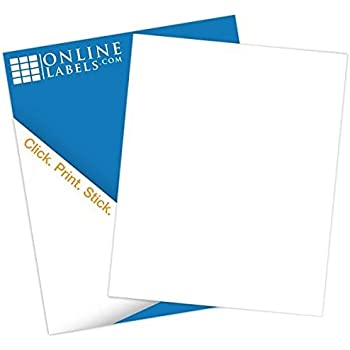 full sheet sticker paper Avery gold full-sheet sticker project paper, 8-1/2 x 11 5 sheets (4395.