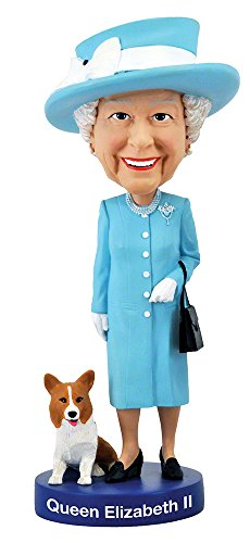 Royal Bobbles Queen Elizabeth Bobblehead