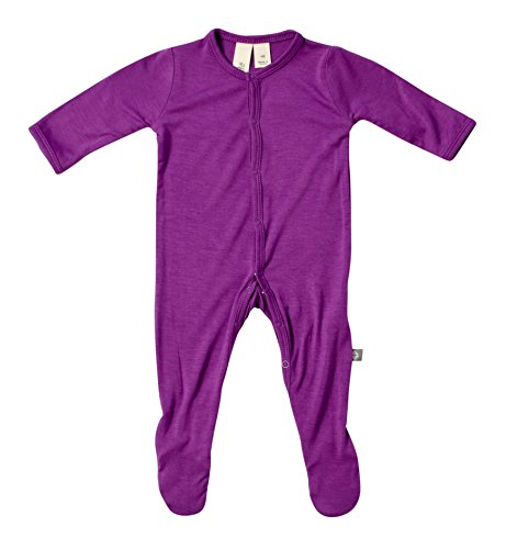 Kyte BABY Solid Footies (0-3 Months, Berry)