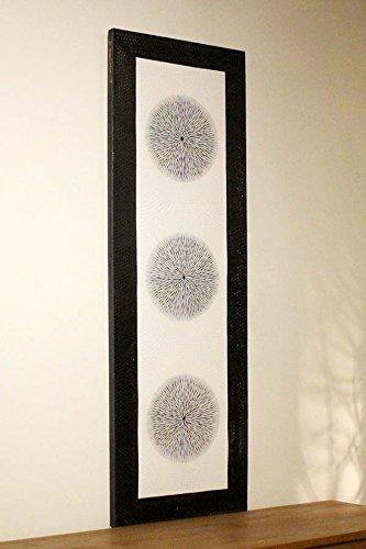 絵画 ドットアート モダン 細かい点で描かれた絵 インテリアパネル 壁掛け バリアート B01N46T13E