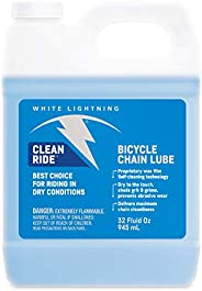White Lightning Clean Ride The Original Self-Cleaning Wax Bicycle Chain Lubricant