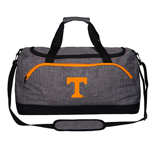 (FOCO NCAA Tennessee Volunteers Heather Grey Bold Color Duffle Bagheather Grey Bold Color Duffle Bag, Team Color, One Size)