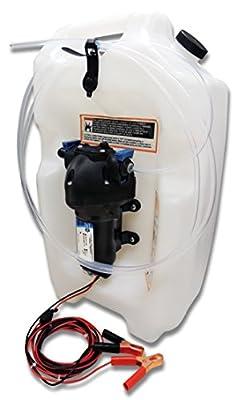 Jabsco 17860-2012 Flat Tank 12V DC Engine Oil Changer System, 3.5 gallon