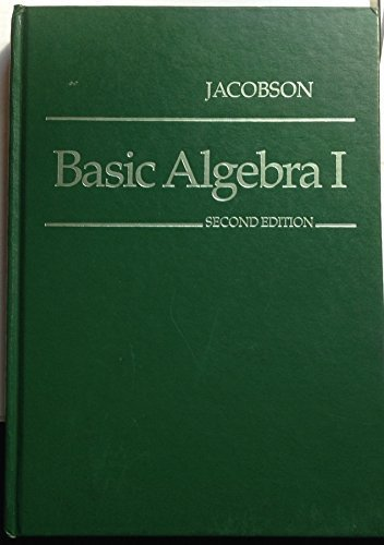 basic algebra i and ii - 6