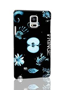 Fringe Pattern Hard Durable 3D Cover Rough Skin Case for Samsung Galaxy N4 Note 4
