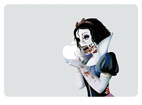 Price comparison product image Zombie Snow White Apple Macbook (11 inch Air/Retina) Laptop Vinyl Decal Skin Sticker