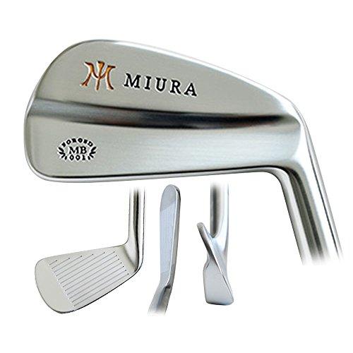 Miura MB-001 Iron Set 2017 Right 3-PW Fujikura Vista Pro 50i Graphite Senior by Miura