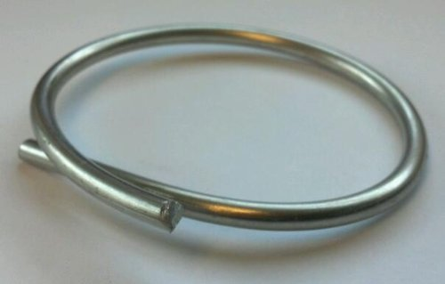 Zinc Wire 99.9% Pure 0.125 inch Diameter 1 Foot