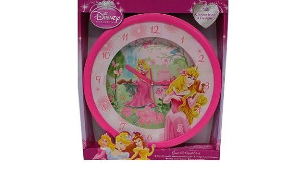 Reloj de pared 3d GEANTE Disney bella durmiente: Amazon.es: Juguetes y juegos