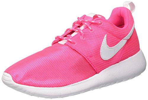 Gs Unisex Nike Bambino White da Ginnastica Roshe Scarpe Hyper Rosa One Pink WEU1wqYAnU