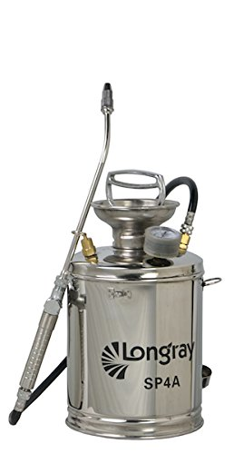 Stainless Steel Hand-Pumped Sprayer (1-Gallon) by Longray
