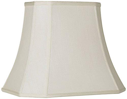 Imperial Creme Rectangle Cut Corner Shade 10x16x13 (Spider) - Imperial Shade