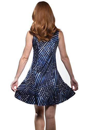 Calison Sans Manches Femmes Robe À Fleurs De La Mode Made In Usa Grande