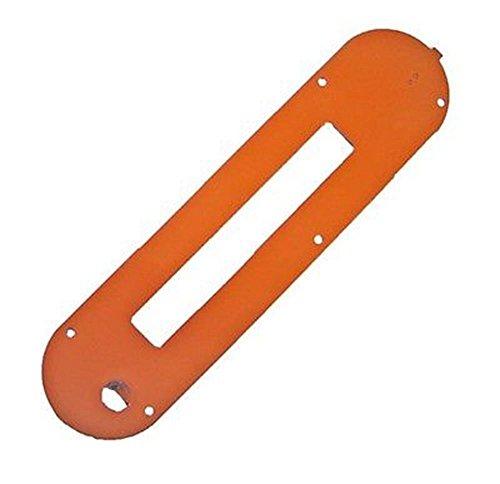 Ridgid 080035003093 r4512 table saw dado throat plate for 10 dado blade for table saw