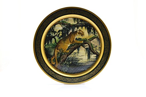 (Pickard China Collector Plate Lockhart 1978 American Panther 663/2000)