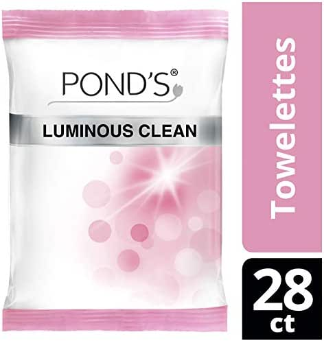 Pond's Luminous Clean Wipes