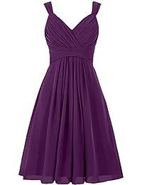 Amazon.com: Purple - Bridesmaid / Wedding Party: Clothing, Shoes ...