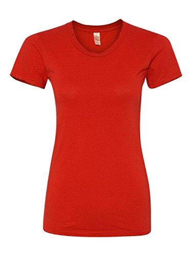 Alternative Ladies Destroyed T-shirt - Alternative Women's Destroyed Tee, Apple Red, M