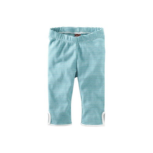 Tea Collection Little Girls' Peacock Pedal Pushers Pant
