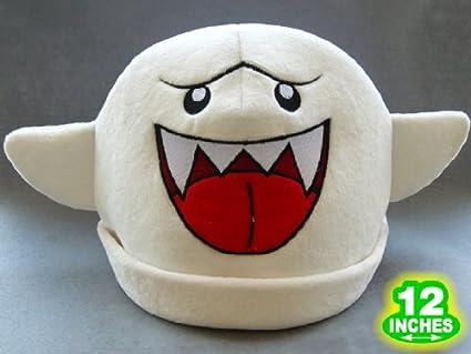 Mario Bro Boo Ghost Costume Hat & Amazon.com: Mario Bro: Boo Ghost Costume Hat: Toys u0026 Games
