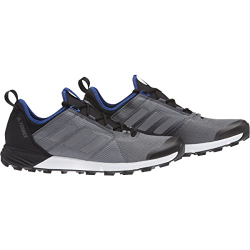 (adidas outdoor Men's Terrex Agravic Speed Vista Grey/Vista Grey/Core Blue 10 D US)