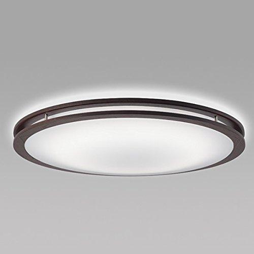 NEC LEDシーリングライト ~12畳用 調光調色タイプ 昼光色+電球色 ホタルック機能付 ダークオーク色 SLDCD12528SG B019DUP3N6
