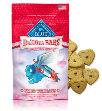 Blue Buffalo Be Mine Bars Healthy Holistic Valentines Dog Treats