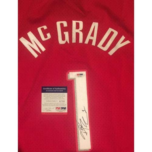 Tracy McGrady Autographed Jersey - Reebok Framed - PSA DNA Certified -  Autographed NBA Jerseys at Amazon s Sports Collectibles Store f5c43e9b8