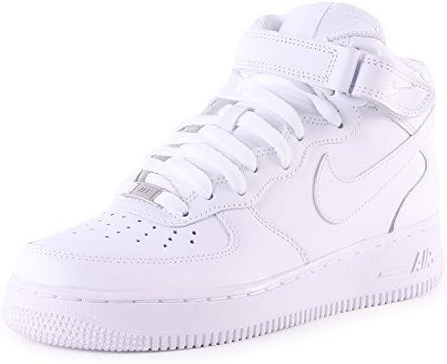 Nike Herren Air Force 1 Mid 07 315123 111 High Top, weiß, 40 EU