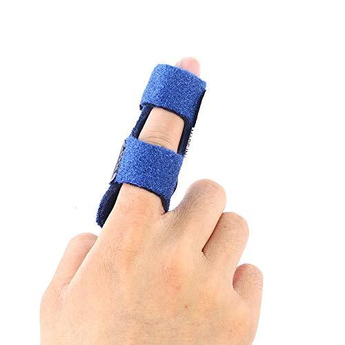 Modenny Finger Extension Splint for Trigger Finger Mallet Finger Finger Knuckle Immobilization Finger Fractures Pain Relief (Immobilization Splints)