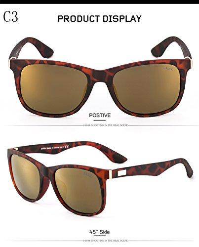 Gafas C1 para Aviator Protección UV Mujer para Hombre De Sol 400 C3 Polarizadas rCqrR