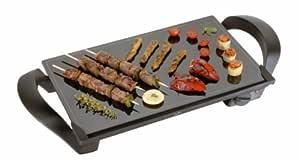 Jata Vitro Magic - Plancha de cocina, 1600 W, 28x46, antiadherente, color negro