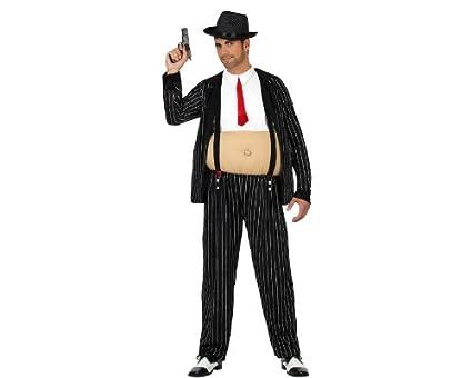Atosa-22953 Disfraz Gangster, Color negro, M-L (22953: Amazon.es ...
