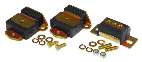 - Prothane 7-1907-BL Black Motor and Transmission Mount Kit
