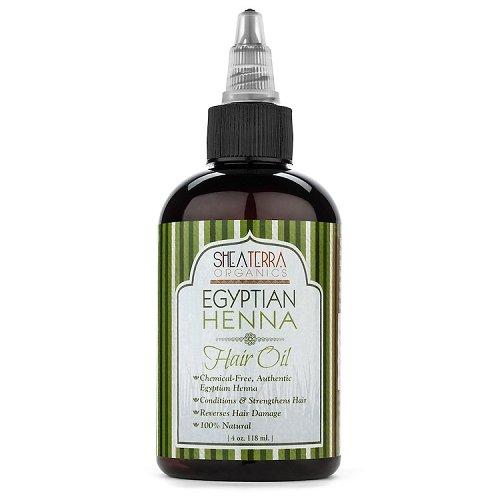 Shea Terra Hair Oil Egyptian Henna & Watercress - 8 Ounce -