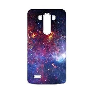 Galaxy Star Sky Fantastic White Phone Case for LG G3