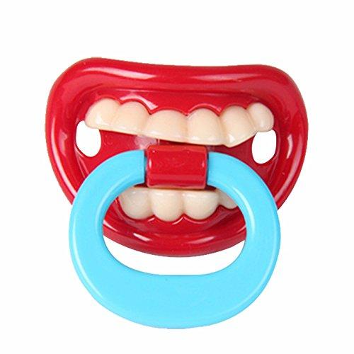 Pieza de pezón de silicona ortodoncia divertida para bebé ...