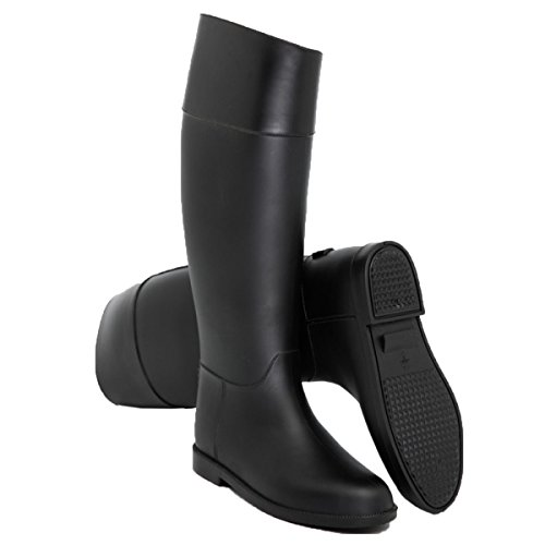 HOFFNUNG Männer Frauen Regen Stiefel Wasser Schuhe Wasserdicht Anti-Schlamm Vier Jahreszeiten Anti-Rutsch Easy Match Soft,A-d A